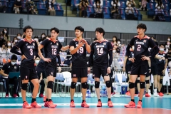 006JPN_players_during_a_time_out