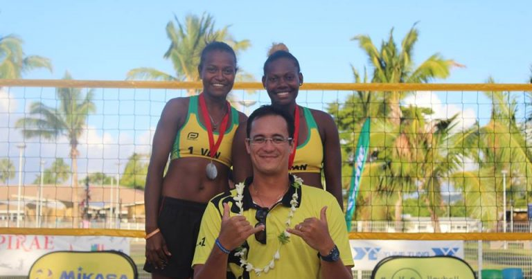 VANUATU DEFEND OCEANIA BEACH VOLLEYBALL TITLE