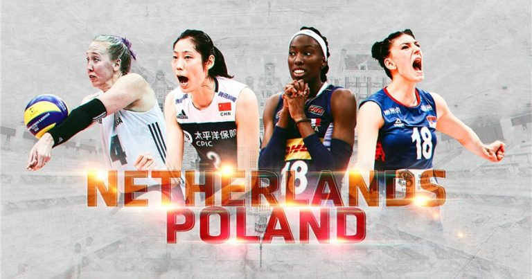 NETHERLANDS AND POLAND SELECTED TO JOINTLY HOST 2022 FIVB VOLLEYBALL WOMEN'S WORLD CHAMPIONSHIP