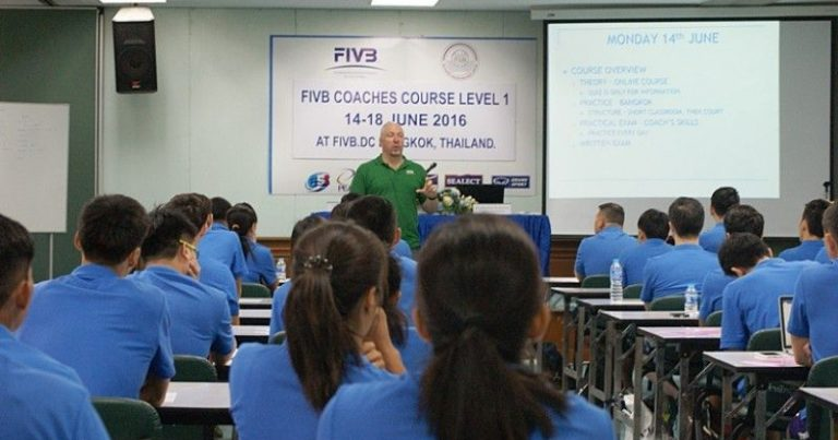 DEMAND AT ALL-TIME HIGH AT FIVB DEVELOPMENT CENTRE THAILAND
