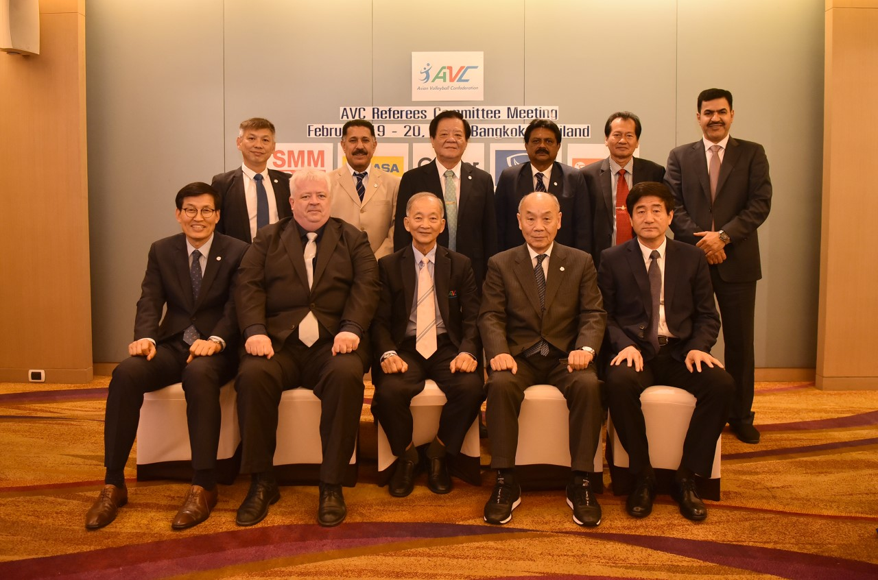HIGH QUALITY OF REFEREES, NEW TECHNOLOGY AND NEW CHALLENGES DISCUSSED AT AVC RC MEETING