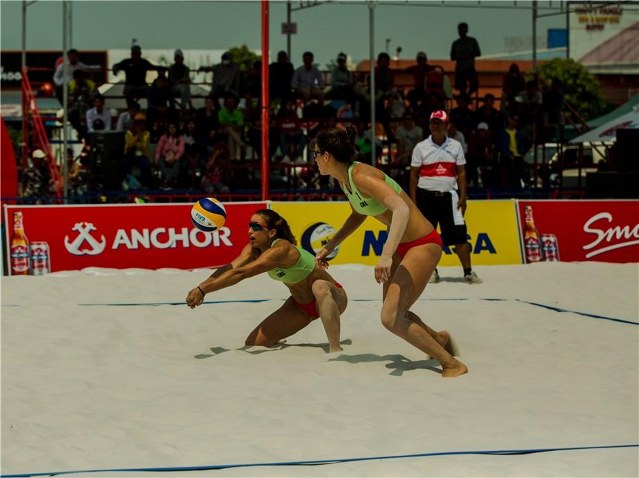 ARVANITI AND KARAGKOUNI WIN GOLD AT PHNOM PENH