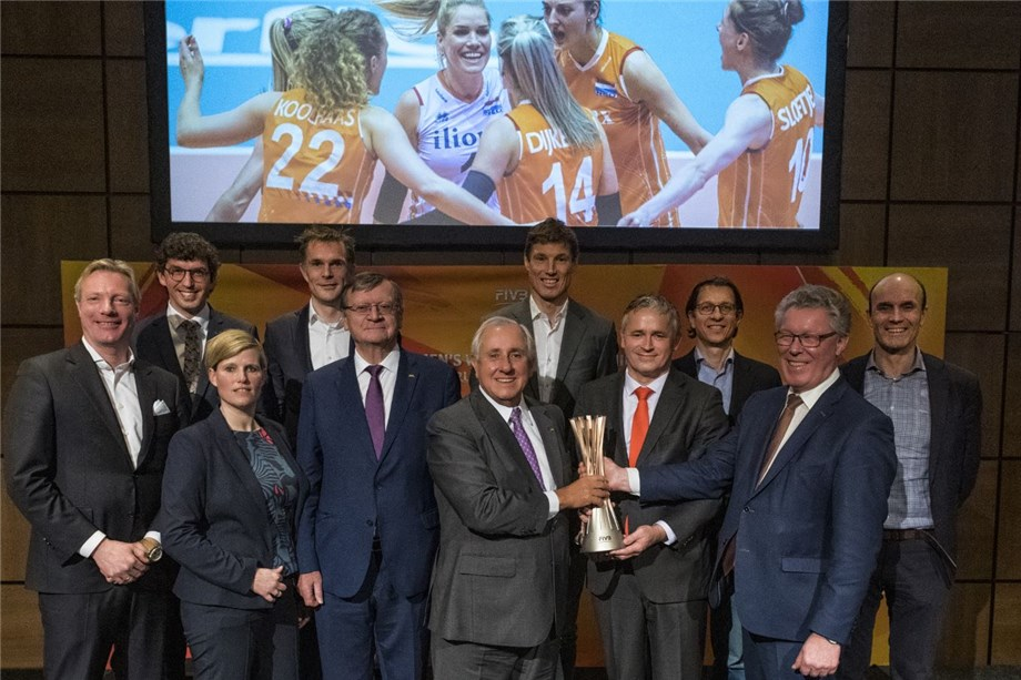 2022 FIVB WOMEN'S VOLLEYBALL WORLD CHAMPIONSHIP CONCEPT LAUNCHED IN THE NETHERLANDS