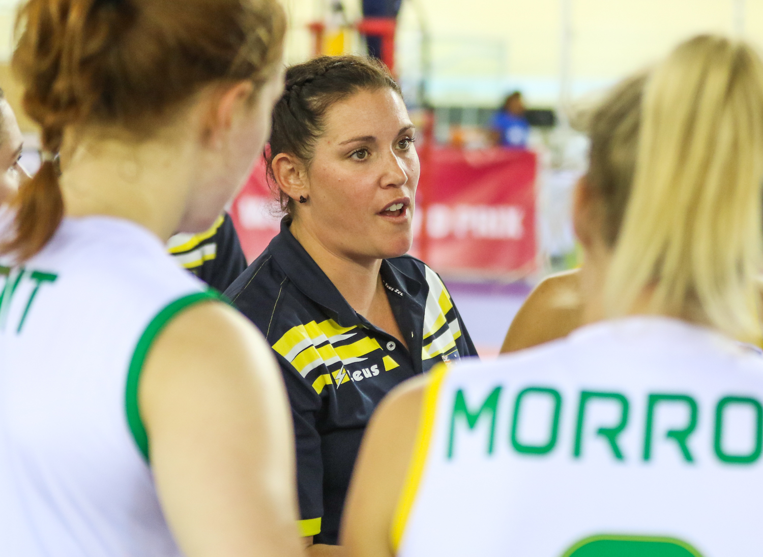 SHANNON WINZER LEAVING THE VOLLEYROOS