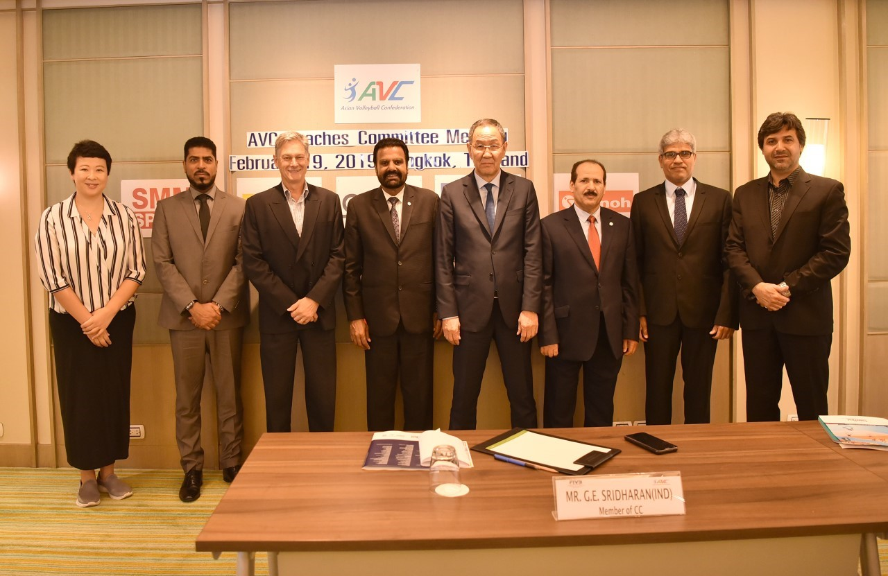 AVC COACHES COMMITTEE MEETING IN FRUITFUL CONCLUSION