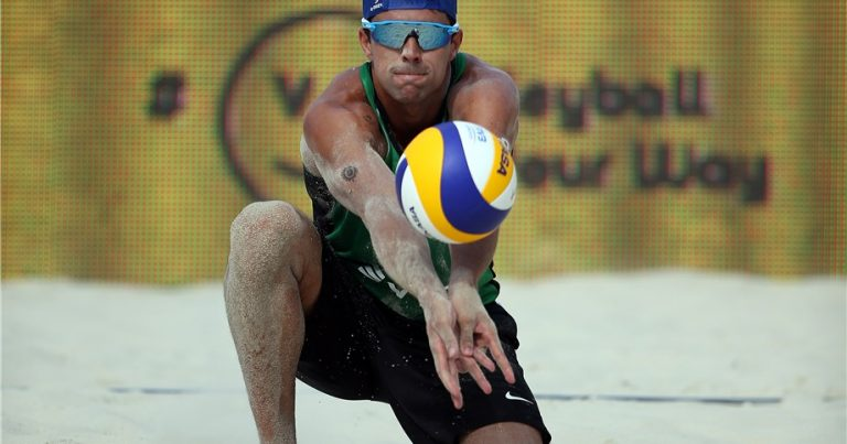 PEDRO AND VITOR FELIPE HIT THE SAND RUNNING AT DOHA 4-STAR