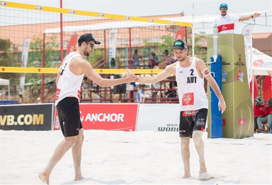 DRESSLER AND HUBER EASE THEIR WAY INTO ALL-EUROPEAN SEMI-FINALS AT SIEM REAP