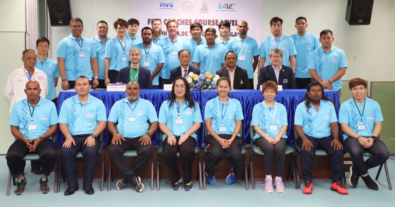 LEVEL II FIVB COACHES COURSE BEING HELD IN THAILAND