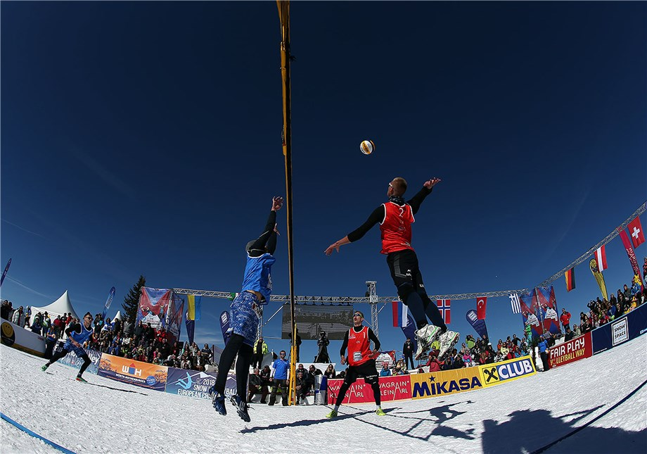 SNOW VOLLEYBALL SITE LAUNCHED AHEAD OF WORLD TOUR