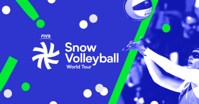 FIVB UNVEIL SNOW VOLLEYBALL LOGO AHEAD OF INAUGURAL WORLD TOUR