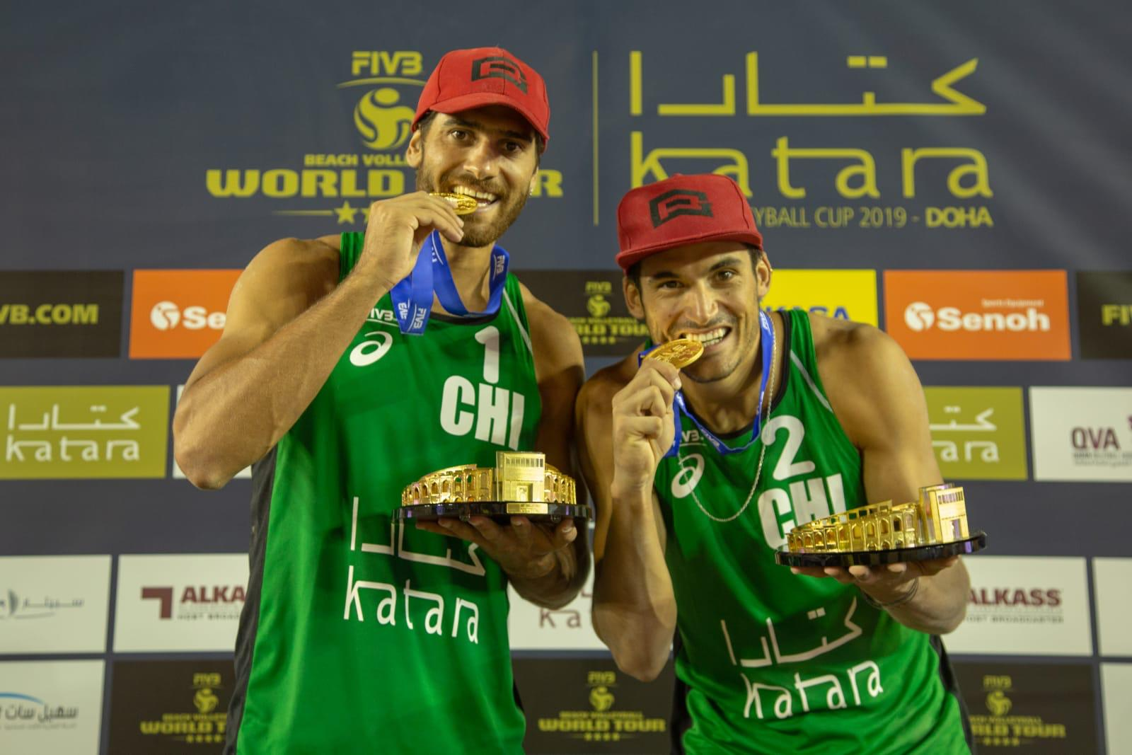 GRIMALT AND GRIMALT MAKE IT TWO GOLD IN TWO WEEKS WITH DOHA VICTORY
