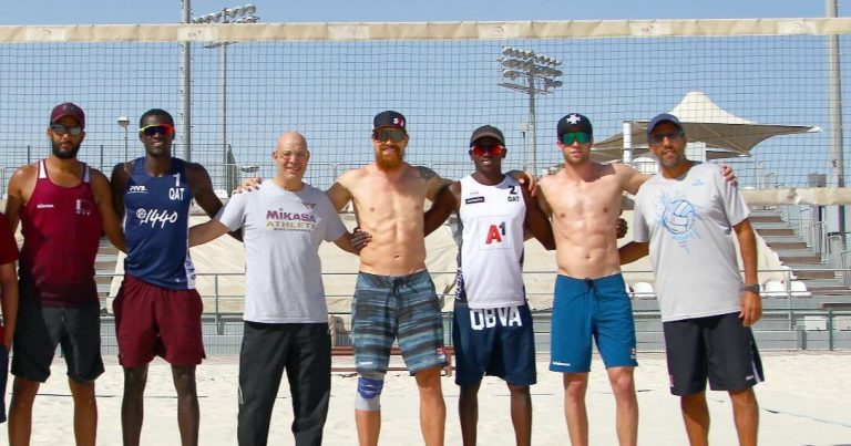 TEAMS ARRIVE AT TRAINING CAMP IN DOHA AHEAD OF KATARA OPEN