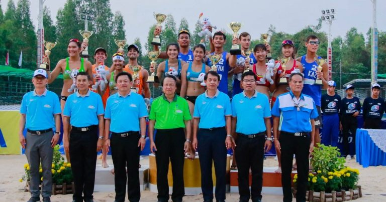 THAILAND MAKE A CLEAN SWEEP AT ASIAN U21 BEACH VOLLEYBALL CHAMPIONSHIPS