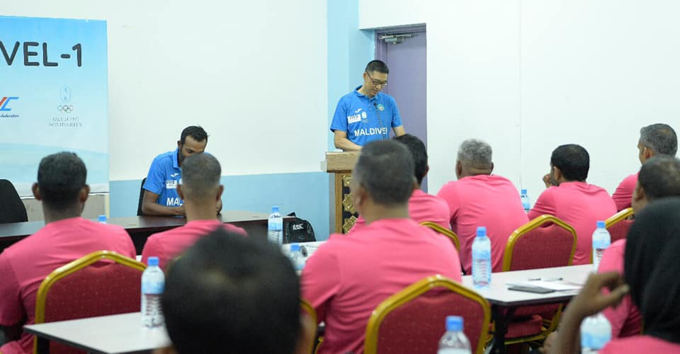 LEVEL I FIVB COACHES COURSE WELL UNDER WAY IN MALDIVES