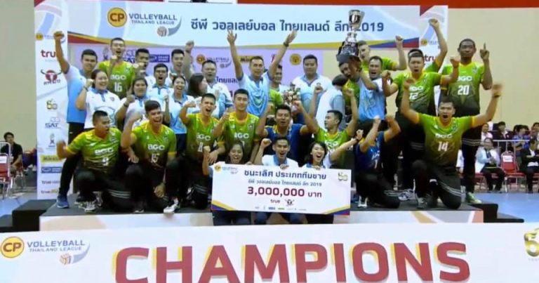 AIR FORCE RECLAIM THAILAND LEAGUE TITLE, NAKHON RATCHASIMA STUN DEFENDING CHAMPS SUPREME TO CAPTURE WOMEN'S CROWN