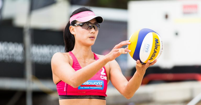 XUE CHEN LEADS CHINESE CREW AT SYDNEY
