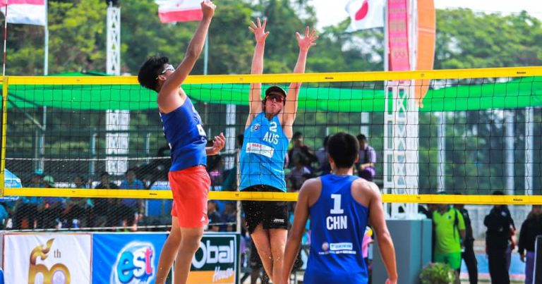 STRONG TEAMS OVERCOME SEARING HEAT TO GET THINGS DONE ON FIRST DAY OF ASIAN U21 BV CHAMPIONSHIPS