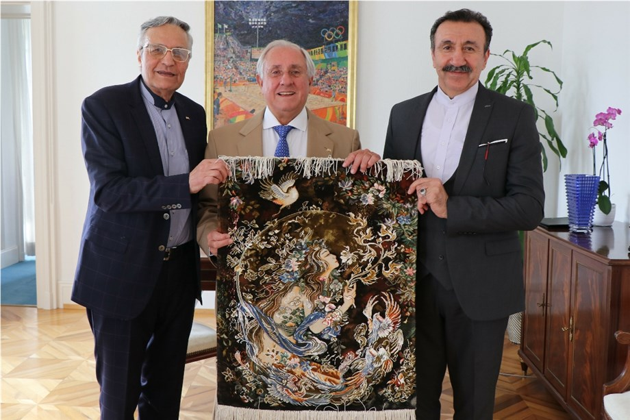 FIVB PRESIDENT MEETS THE INTERIM PRESIDENT OF THE IRANIAN VOLLEYBALL FEDERATION