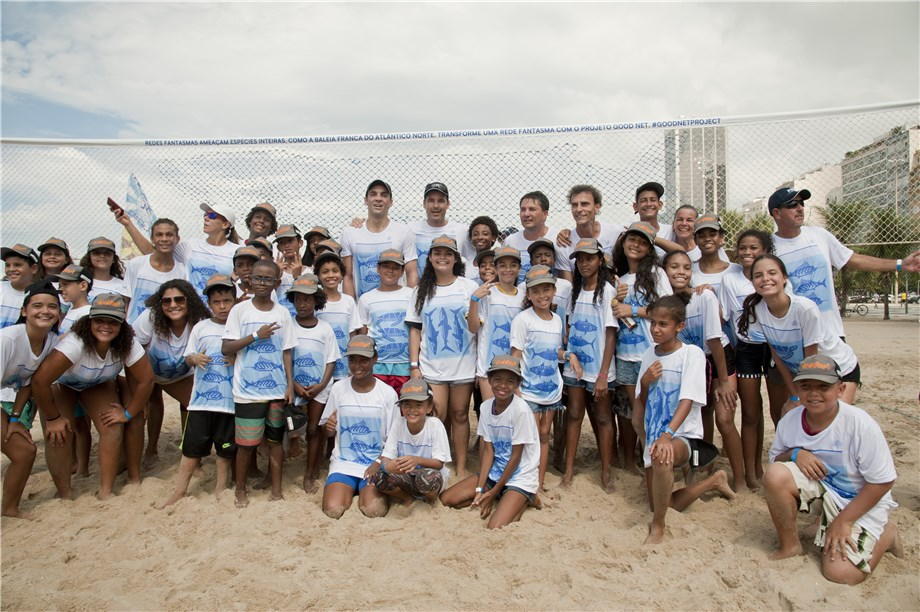 VOLLEYBALL STARS SHARE MESSAGE OF #GOODNETPROJECT ACROSS SOCIAL MEDIA