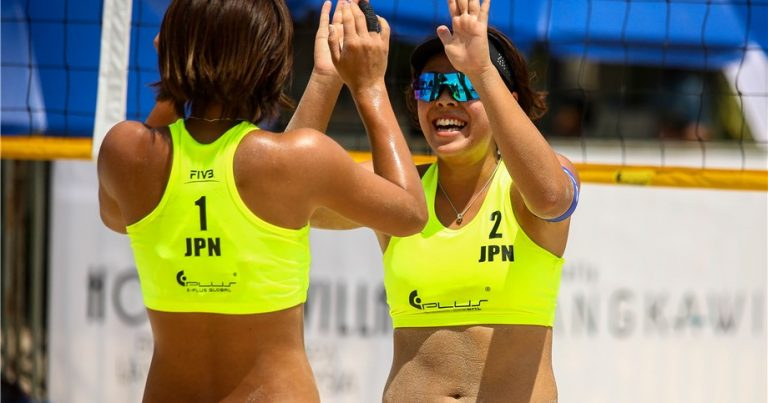 ISHITSUBO AND SHIBA EDGE TOP-SEEDED COMPATRIOTS IN LANGKAWI POOL PLAY