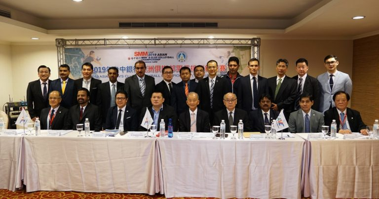 GENERAL TECHNICAL MEETING AND OPENING CEREMONY HELD AHEAD OF 2019 ASIAN MEN'S CLUB CHAMPIONSHIP IN TAIPEI