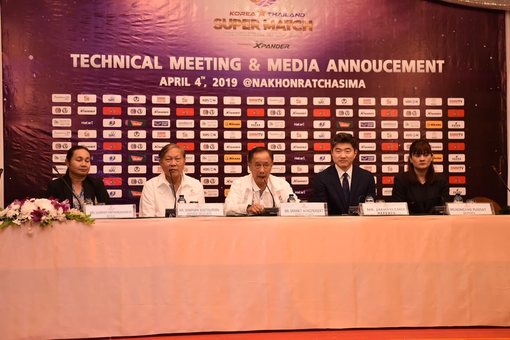 KOREA-THAILAND PRO ALL-STAR SUPER MATCH TO BE HELD FRIDAY