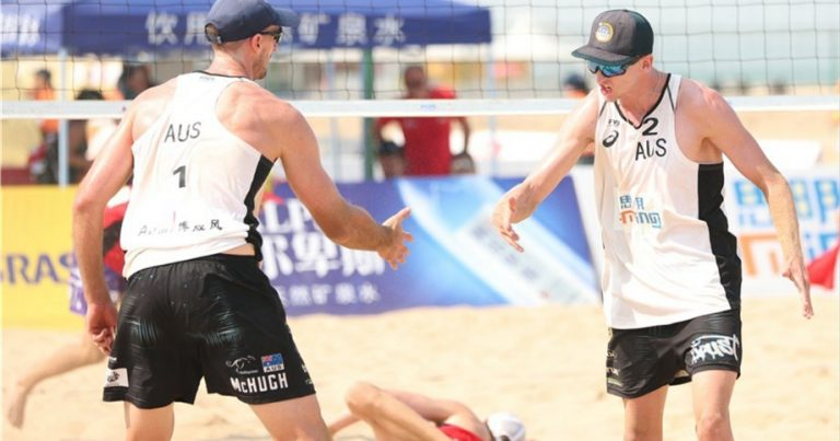 AUSTRALIA'S MCHUGH AND SCHUBERT OVERCOME DEMONS IN XIAMEN