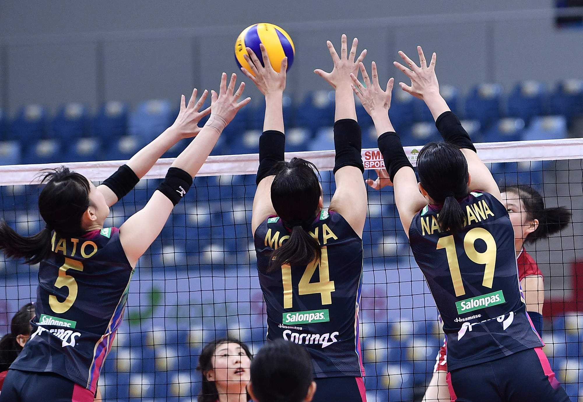 STRAIGHT-SET WINS PREVAIL ON DAY 2 OF ASIAN WOMEN'S CLUB CHAMPIONSHIP