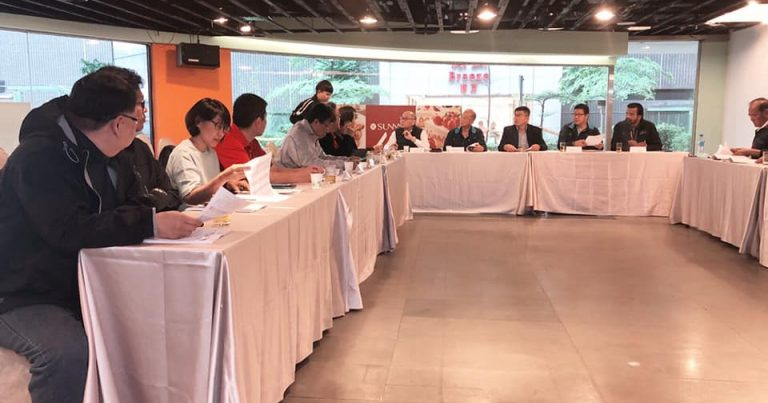JOINT MEETING HELD TO DISCUSS WORK DONE AHEAD OF ASIAN MEN'S CLUB CHAMPIONSHIP