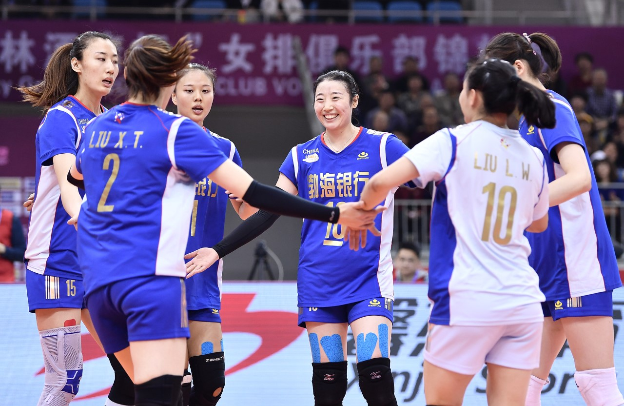 CHINA NATIONAL TEAM MEMBERS RETURN TO STEER HOSTS TIANJIN TO 3-0 WIN AGAINST TPE