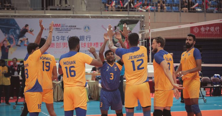JEROME GUIDES CLASSY CHENNAI TO TIE-BREAK WIN AGAINST HOSTS TAICHUNG BANK