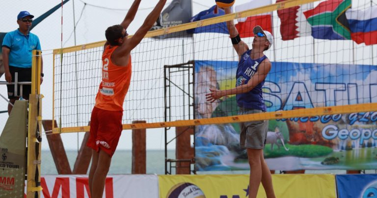 SEMI-FINALS CONFIRMED AFTER ACTION-PACKED MATCHES AT FIVB BEACH VOLLEYBALL WORLD TOUR SATUN 1-STAR