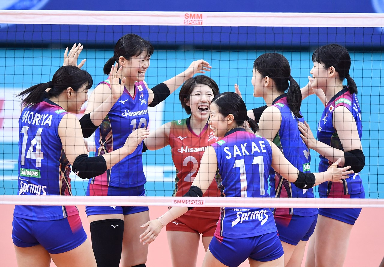 DOMINANT TEAMS BUT REIGNING CHAMPS SUPREME OFF TO WINNING START AT 2019 ASIAN WOMEN'S CLUB CHAMPIONSHIP