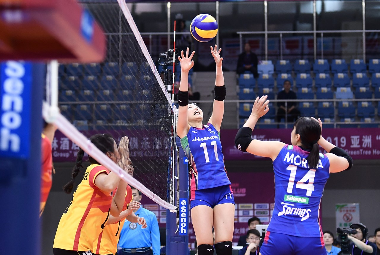 ARISA INOUE POWERS HISAMITSU TO ANOTHER BACK-TO-BACK 3-0 VICTORY