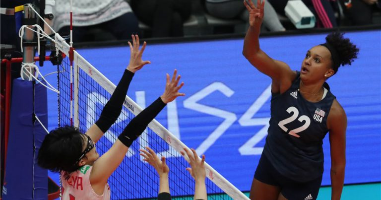 ASIAN CHAMPS JAPAN SUFFER FIRST LOSS AT 2019 VNL