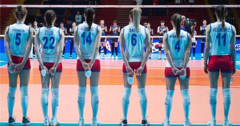 WORLD CHAMPS SERBIA BEAT KOREA FOR SECOND WIN AT 2019 VNL