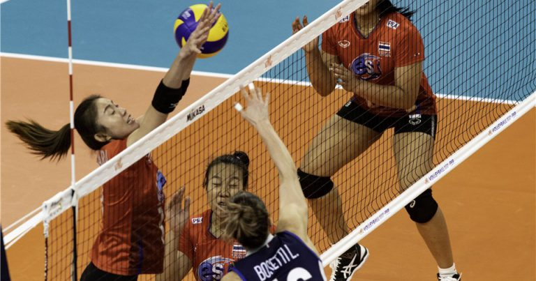 THAILAND GO DOWN IN STRAIGHT SETS TO ITALY AT 2019 VNL