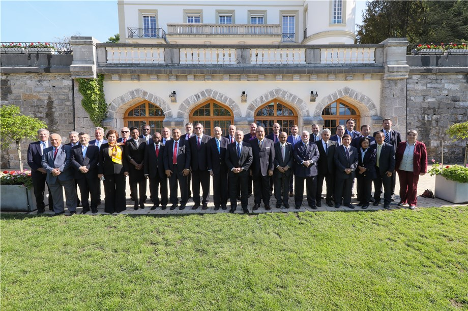 """""""GIVE THE FUTURE TO VOLLEYBALL"""": FIVB PRESIDENT LAUNCHES NEW PHASE IN FIVB MANAGEMENT"""