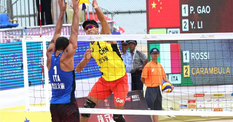 ROSSI & CARAMBULA TAKE ON CHINA IN JINJIANG