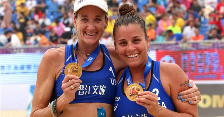 SWEAT & WALSH JENNINGS EARN FIRST GOLD IN JINJIANG