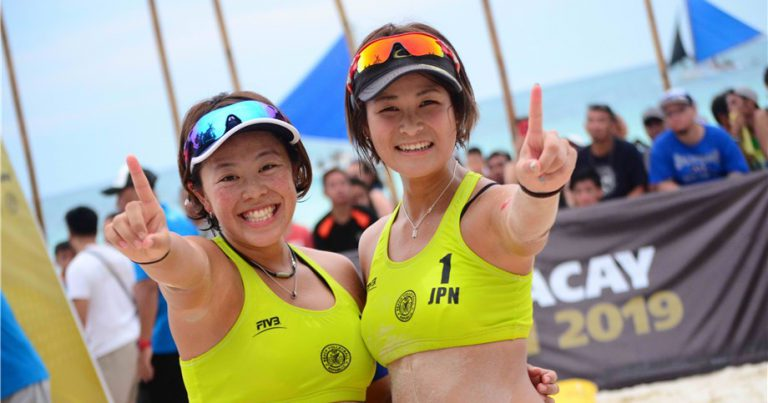 ISHITSUBO AND SHIBA CLAIM WOMEN'S GOLD IN BORACAY