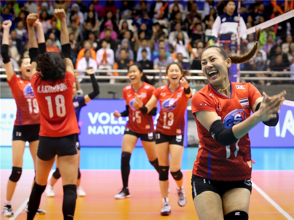 IN-FORM THAILAND POWER PAST KOREA AT VNL