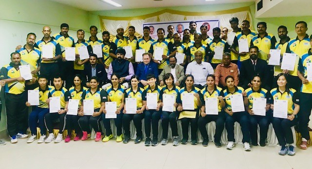 LEVEL-1 FIVB COACHES COURSE COMPLETED IN INDIA