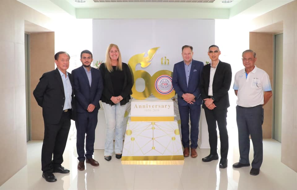 FIVB REPS VISIT DEVELOPMENT CENTER IN THAILAND WITH A SPECIAL FOCUS ON SPORTS DEVELOPMENT PROJECTS PLATFORM
