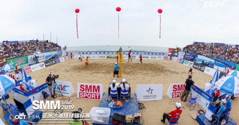 ELITE TEAMS DOMINATE DAY 1 OF ASIAN SENIOR BEACH VOLLEYBALL CHAMPIONSHIPS IN CHINA