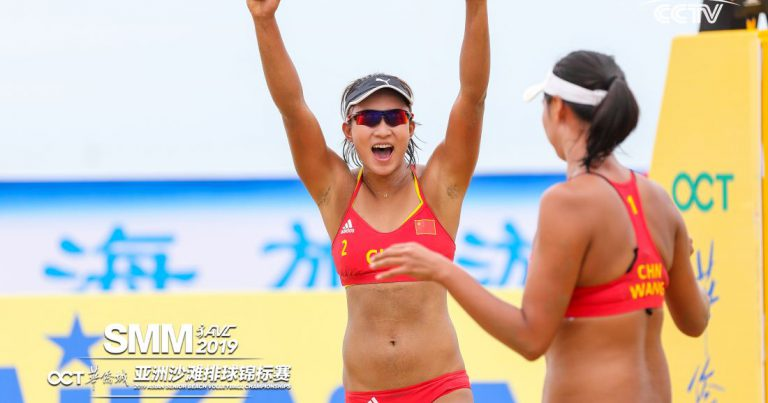 STRONG TEAMS OFF TO WINNING START AT 2019 ASIAN SENIOR BEACH VOLLEYBALL CHAMPIONSHIPS IN CHINA