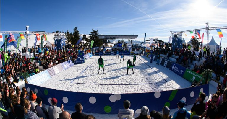 SOCIAL MEDIA AND DIGITAL COVERAGE OF THE SNOW VOLLEYBALL WORLD TOUR SHOWS STRENGTH AND SIGNIFICANT GROWTH