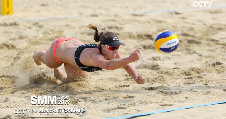 AUSTRALIANS RULE DAY 2 OF 2019 ASIAN SENIOR BEACH VOLLEYBALL CHAMPIONSHIPS