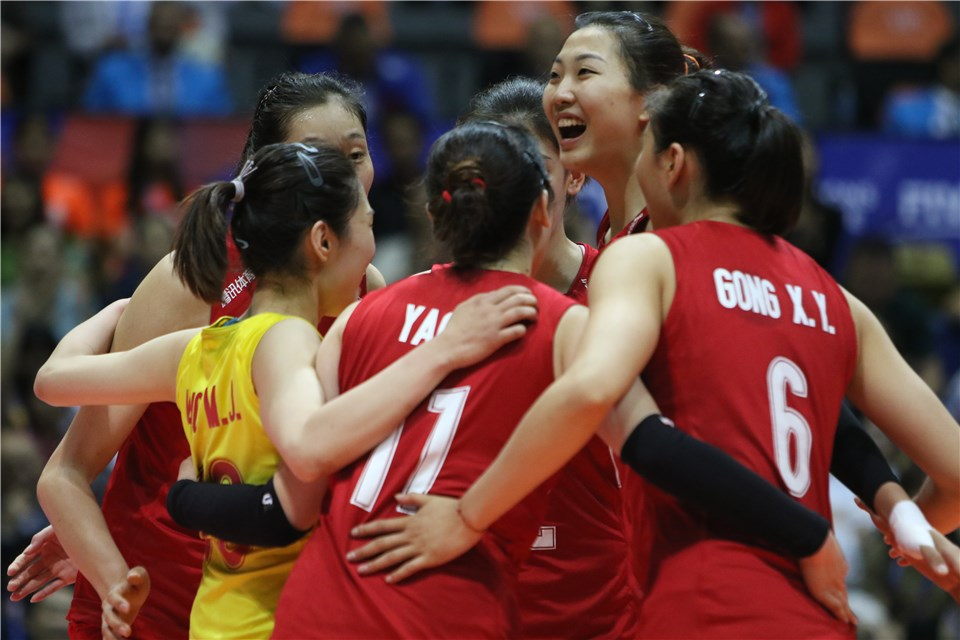 ZHU TING POWERS CHINA IN DUTCH SWEEP