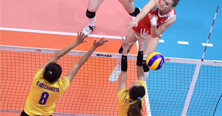 HOSTS THAILAND SUCCUMB TO STRAIGHT-SET LOSS TO TURKEY